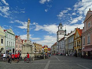 Třeboň je lázeňské centrum jihočeského kraje (Česká republika)