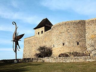 Hrad Helfštýn je jeden z největších hradů v českých zemích (Česká republika)