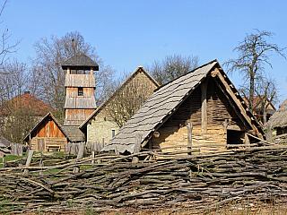 Archeoskanzen Modrá u Velehradu (Česká republika)