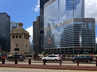 Mrakodrap Trump International Hotel and Tower v Chicagu (Illinois - USA)