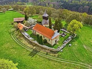Hradiště Libušín je staré slovanské hradiště nedaleko Kladna (Česká republika)