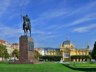 Záhřeb, hlavní město Chorvatska (Chorvatsko)