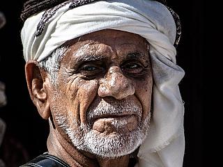 Starý arabský muž (Spojené arabské emiráty)