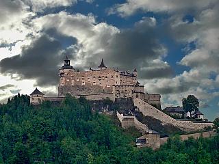 Tajemný hrad Hohenwerfen (Rakousko)