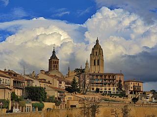 Segovia – město postavené Římany (Španělsko)