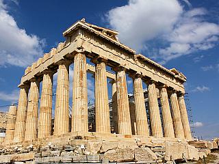 Akropole v Athénách (Řecko)