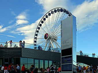 Navy Pier v Chicagu (Ilinois - USA)