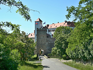 Hrad Bítov - krásná památka ve znojemském regionu (Česká republika)