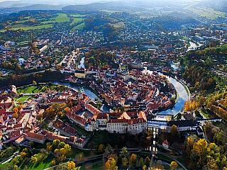Český Krumlov je klenotem jihočeského regionu, uznávaným i v zahraničí (Česká republika)