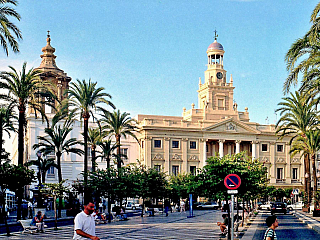 Cádiz – fénický přístav (Španělsko)