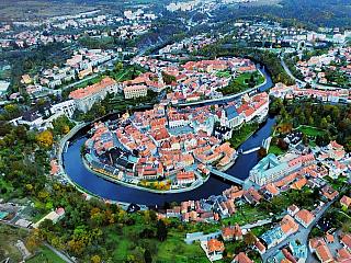 Český Krumlov je oázou plnou kultury (Česká republika)