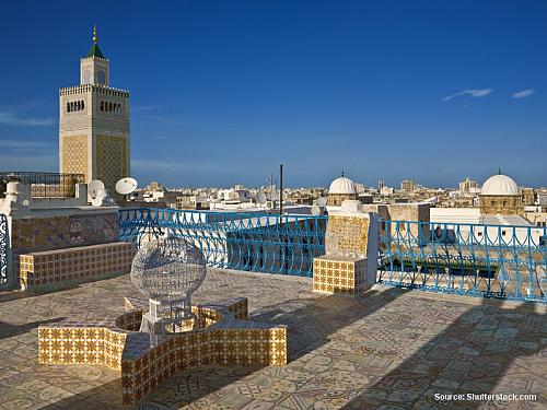 Tunis – moderní svět islámu (Tunisko)