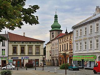 Frenštát pod Radhoštěm – město v podhůří Beskyd (Česká republika)