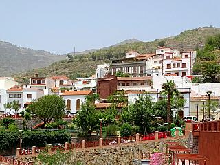 Tejeda je městečko v horách ostrova Gran Canaria (Španělsko)
