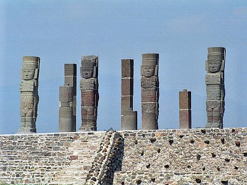 Mexická Tula byla centrem toltéckého impéria (Mexiko)