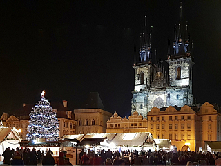Vánoční Praha (Česká republika)
