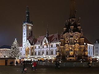 Vánoční trhy v Olomouci (Česká republika)