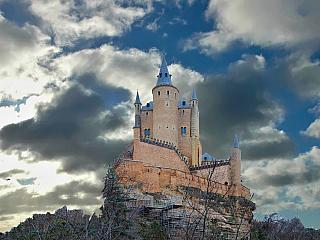 Hrad v Segovii si zamilovala i Isabela Kastilská (Španělsko)