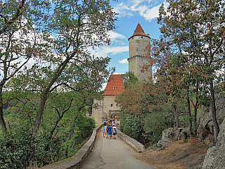 Fotogalerie hradu Zvíkov (Česká republika)