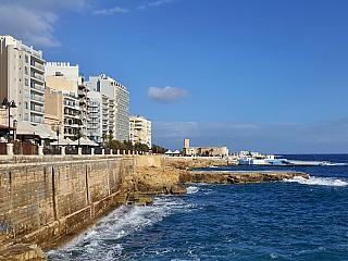 Krátké video ze Sliemy na Maltě (Malta)