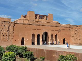 El Badii Palace v Marrákeši (Maroko)