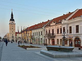 Centrum velkého kraje, necelých padesát kilometrů od Bratislavy. O významu Trnavy svědčí i přezdívka, které se jí vminulosti dostalo – Malý Řím se jistě neříká jen tak někde. První svobodné královské město na území dnešního Slovenska, již od roku 1238 díky Bélovi IV. Vcentru je několik...