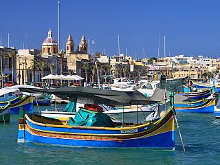 Fotogalerie rybářského městečka Marsaxlokk na Maltě (Malta)