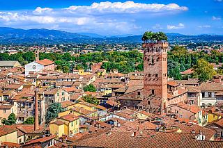 Městské hradby z dob renesančních sice stojí za vidění a procházku, ale uvnitř jejich prstence ukrývá toskánská Lucca ještě víc zajímavého, než se zdá z větší dálky. Jistě, kromě spousty románských kostelů a kostelíků nebo barokních staveb je to například Torre Guinigi, věž pojmenovaná po slavné...