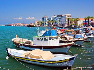 Ayvalik - zastávka u ostrova Alibey (Turecko)
