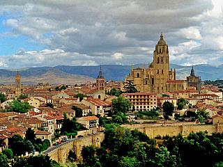 Segovia – královsky vznešená (Španělsko)