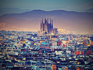 Barcelona – tep Katalánska (Španělsko)