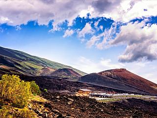 Nejvyšší činná sopka Evropy - Etna (Itálie)