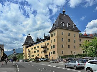 Millstatt je typické korutanské městečko (Rakousko)