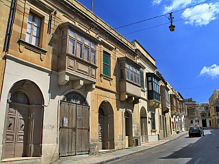 Fotogalerie města Victoria na ostrově Gozo (Malta)
