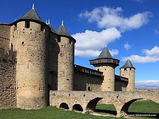 Opevněné město Carcassonne (Francie)