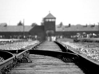 Koncentrační tábor Auschwitz v polské Osvětimi (Polsko)