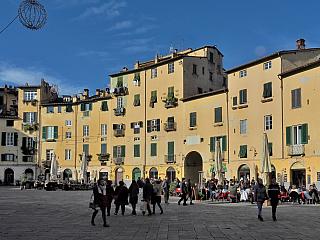 Toskánská Lucca ve fotogalerii (Itálie)