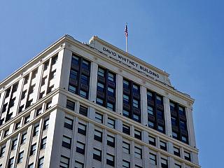 Budova Davida Whitneyho v Detroitu (Spojené státy americké)