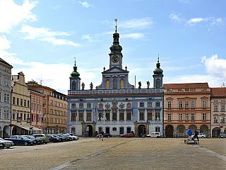 České Budějovice, město pulzující historií (Česká republika)
