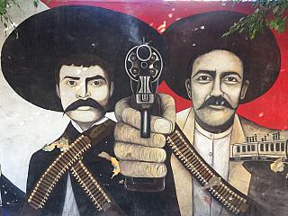 Partyzánské hnutí zapatistů v Mexiku (Mexiko)