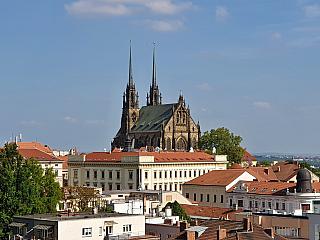 Brno je moravskou metropolí (Česká republika)