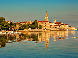 Poreč, městečko na chorvatské Istrii (Chorvatsko)