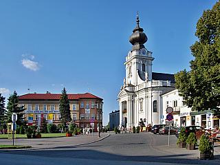 Wadowice jsou rodištěm papeže Jana Pavla II. (Polsko)
