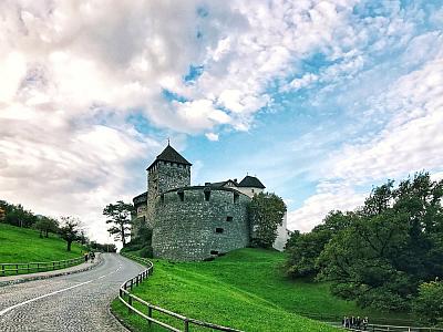 Le château de Vaduz