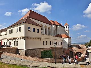 Hrad Špilberk je symbolem Brna (Česká republika)