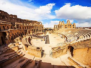 Koloseum v El Jem (Tunisko)