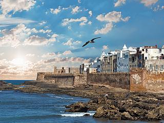 Historická Essaouria na pobřeží Atlantiku (Maroko)