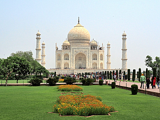 Fotogalerie indického Tádž Mahalu (Indie)
