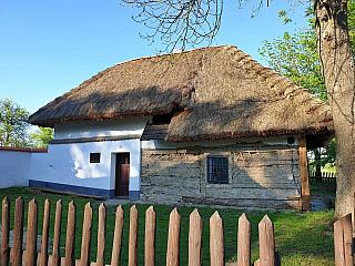 Skanzen lidových domků Rymice na Kroměřížsku (Česká republika)