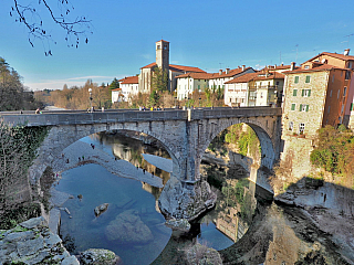 Most Ponte del Diavolo a jedna hodně zajímavá legenda (Itálie)